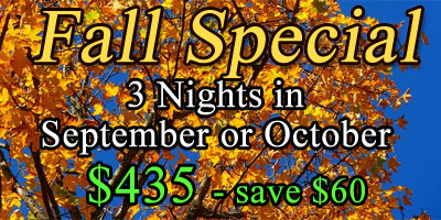 Fall Special - Save $60
